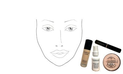 How to create a gold eye makeup look. Makeover Monday : Gwen Stefani Look 2 - Step 3