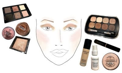 How to create a gold eye makeup look. Makeover Monday : Gwen Stefani Look 2 - Step 9