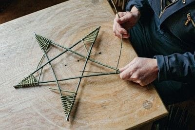 How to sculpt a wood model. Willow Star - Step 3