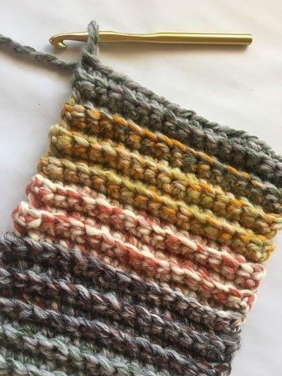 How to make a pumpkin plushie. Crocheted Pumpkins - Step 1