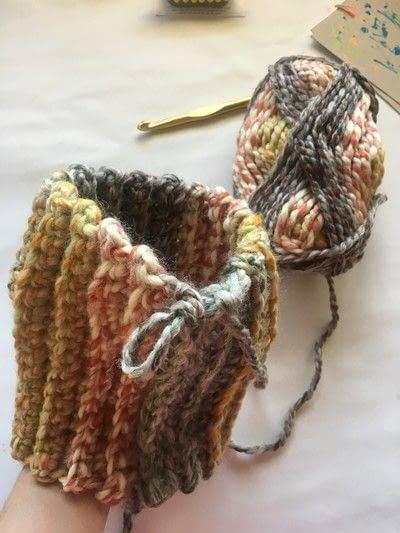 How to make a pumpkin plushie. Crocheted Pumpkins - Step 3