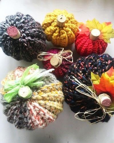 How to make a pumpkin plushie. Crocheted Pumpkins - Step 8
