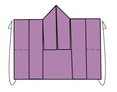 How to fold an origami card. Kimono Cards - Step 8