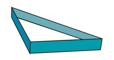 How to make a tray. Origami Triangular Trays - Step 14