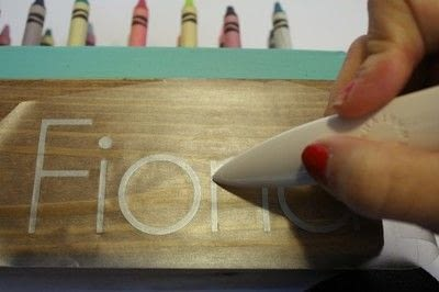 How to make a craft organizers. Wood Crayon Holder - Step 4
