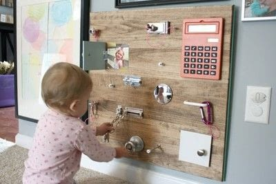 How to make a toy. Toddler Busy Board - Step 4