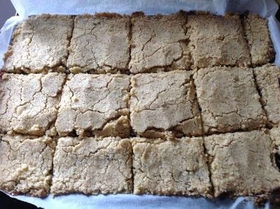 How to bake a bar / slice. Mincemeat Crumble Bars - Step 7