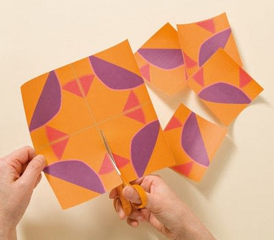 How to fold an origami animal. Origami Sea Anemone - Step 1