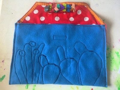 How to make a laptop case. Diy Laptop Sleeve - Step 3