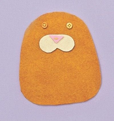 How to make a cat plushie. Cat Pocket - Step 2