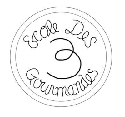 "How to make a patches. ""L'école Des Trois Gourmandes"" Badge (Julia Child's Cooking Badge) - Step 1"