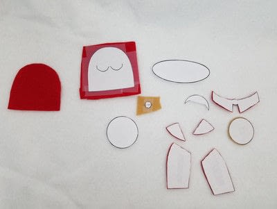 "How to make an egg cosy. Handmade ""Handmaid"" Egg Cozy - Step 3"
