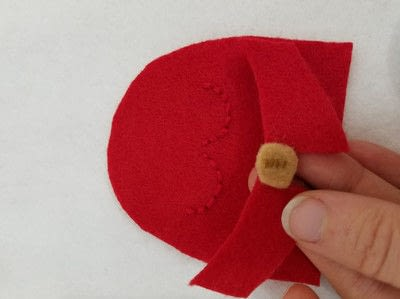 "How to make an egg cosy. Handmade ""Handmaid"" Egg Cozy - Step 8"