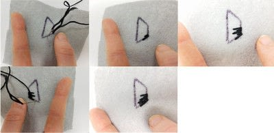 "How to make a towel. ""Good Morning Destroyer Of Men's Souls"" Embroidery Pattern - Step 6"