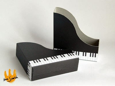 How to make an office accessory. Piano (File) Organizer - Step 4