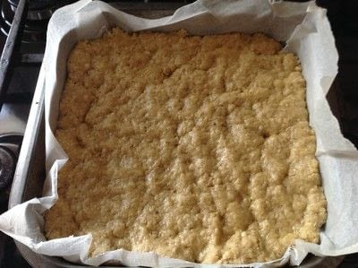 How to bake an oat bar. Nutella Oat Bars - Step 5