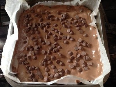 How to bake an oat bar. Nutella Oat Bars - Step 7