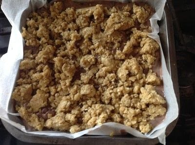 How to bake an oat bar. Nutella Oat Bars - Step 8