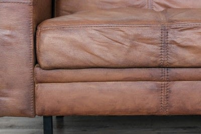 How to make a sofa. Paint Your Old Couch To Look And Feel Like Leather!  - Step 8