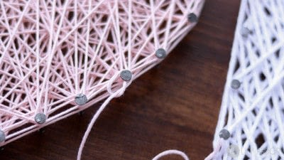 How to make string art. A Special Gift For Your Mom  - Step 4