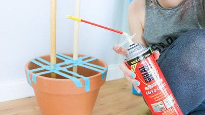 How to make an ornament. Diy Cactis From Pool Noodles!  - Step 1