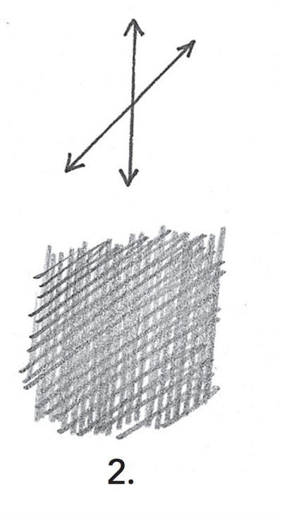 How to make a techniques. Drawing Exercises In Technique - Step 3