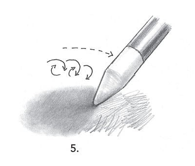 How to make a techniques. Drawing Exercises In Technique - Step 6