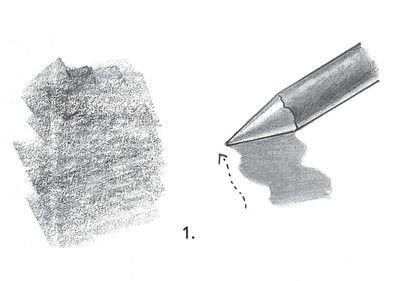 How to make a techniques. Drawing Exercises In Technique - Step 11