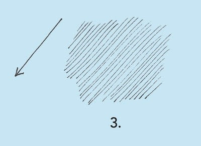 How to make a techniques. Drawing Exercises In Technique - Step 15