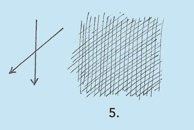 How to make a techniques. Drawing Exercises In Technique - Step 17