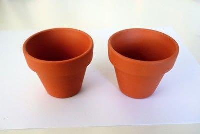 How to make a vase, pot or planter. Cat-cus Pots - Step 1