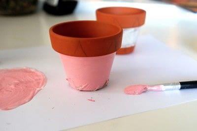 How to make a vase, pot or planter. Cat-cus Pots - Step 5