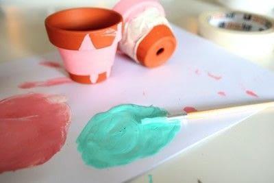 How to make a vase, pot or planter. Cat-cus Pots - Step 8