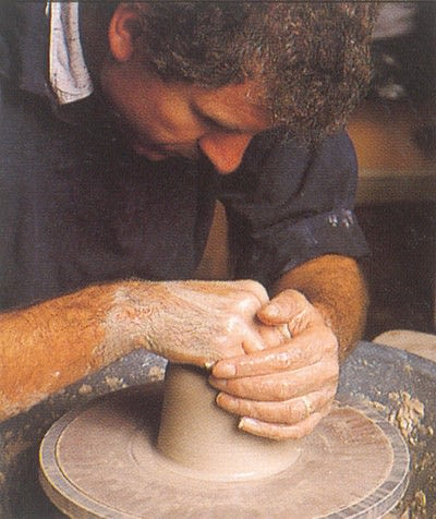 How to make a techniques. Throwing Pottery - Step 6