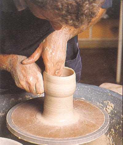 How to make a techniques. Throwing Pottery - Step 8