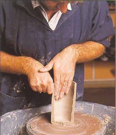 How to make a techniques. Throwing Pottery - Step 11