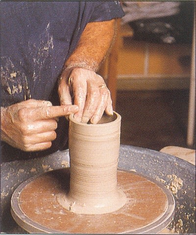How to make a techniques. Throwing Pottery - Step 13