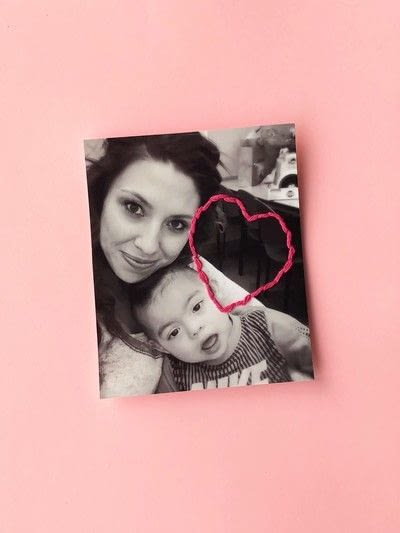 How to make a framed decoration. Embroidery Valentine's Day Photos - Step 4