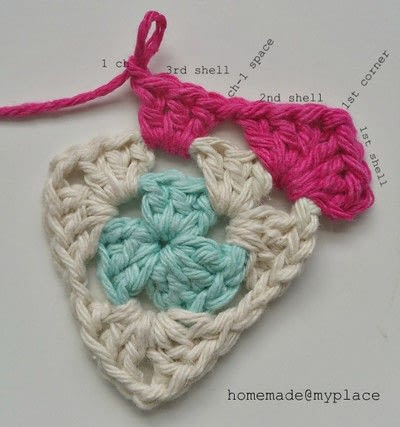 How to crochet a granny square. How To Crochet A Basic Granny Triangle - Step 12
