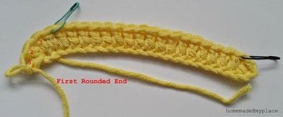How to make a crochet. How To Crochet An Oval Shape - Step 3