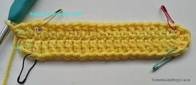 How to make a crochet. How To Crochet An Oval Shape - Step 6