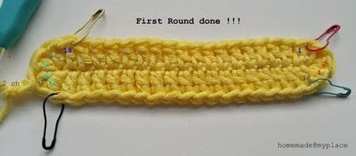 How to make a crochet. How To Crochet An Oval Shape - Step 7