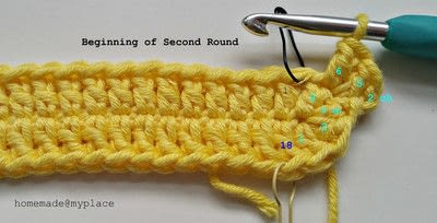 How to make a crochet. How To Crochet An Oval Shape - Step 8