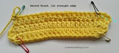 How to make a crochet. How To Crochet An Oval Shape - Step 9
