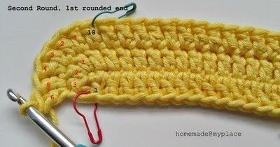 How to make a crochet. How To Crochet An Oval Shape - Step 10