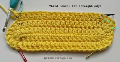 How to make a crochet. How To Crochet An Oval Shape - Step 15