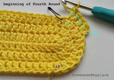 How to make a crochet. How To Crochet An Oval Shape - Step 20