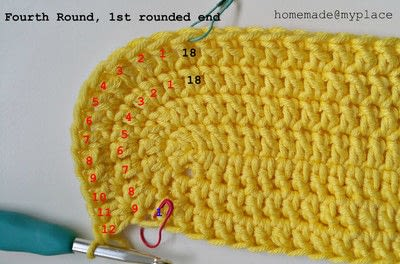 How to make a crochet. How To Crochet An Oval Shape - Step 21