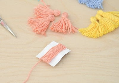 How to make a tassels. Tassel Tutorial - Step 1