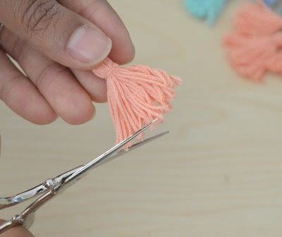How to make a tassels. Tassel Tutorial - Step 8
